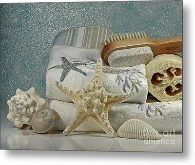 A Day Of Pampering At The Spa Metal Print by Inspired Nature Photography Fine Art Photography