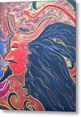 A Devil's Kiss Metal Print by Lorinda Fore and Tony Lima