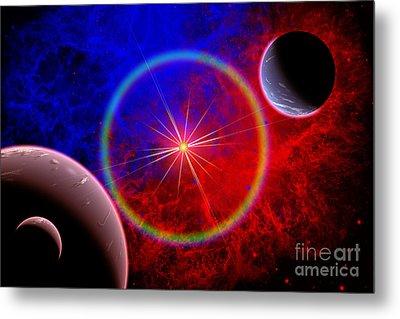 A Distant Alien Star System Metal Print by Mark Stevenson