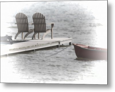 A Distant Summer Metal Print by Cathy  Beharriell