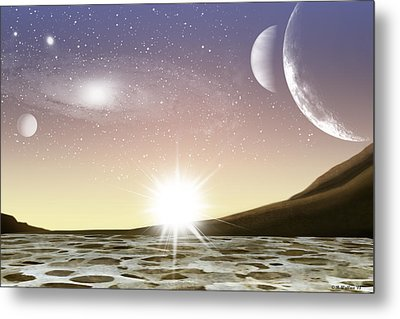 A Distant World Metal Print by Brian Wallace