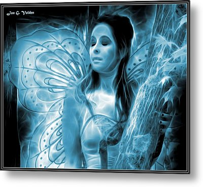 A Fairy Moment Metal Print by Jon Volden