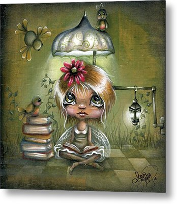 A Fairyland Novel Metal Print by Robin Sample