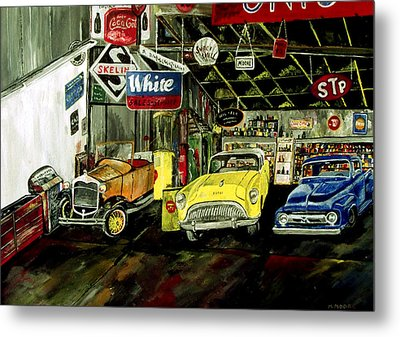 A Fine Time  Metal Print by Mark Moore