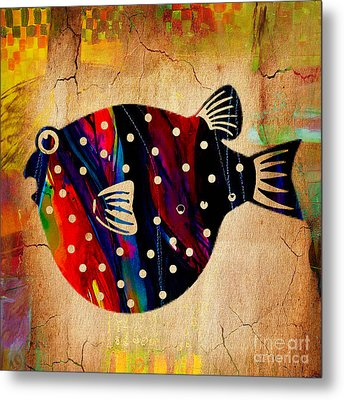A Fish Tale Metal Print by Marvin Blaine