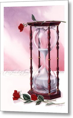 A Friend Loves At All Times Metal Print by Cliff Hawley