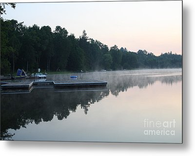 A Good Day For Canoeing Metal Print by Steve Knapp
