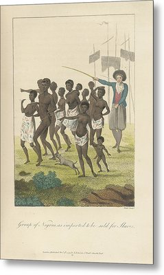 A Group Of Negros Metal Print by British Library