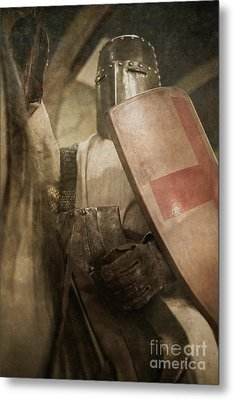 A Knight To Remember Metal Print by Edward Fielding