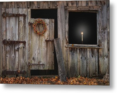 A Little Light Metal Print by Robin-lee Vieira