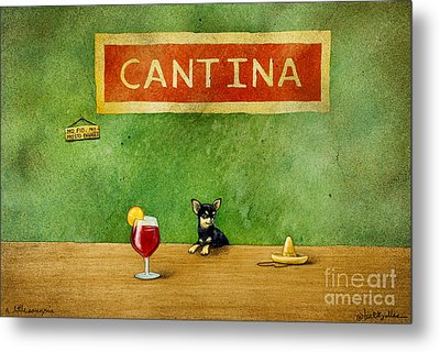 a little Sangria... Metal Print by Will Bullas