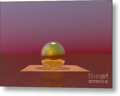 A Lozenge For The Soul Metal Print by Barbara Milton
