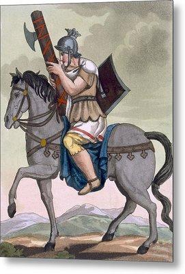 A Military Lictor Of The Cavalry Metal Print by Jacques Grasset de Saint-Sauveur