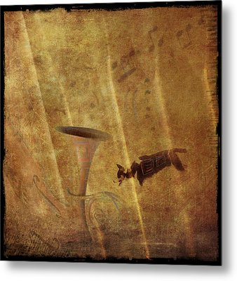 A Mirage Of Music Metal Print by Suzy Norris