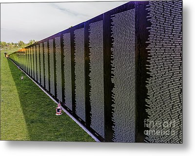 A Moving Wall Metal Print by Jon Burch Photography