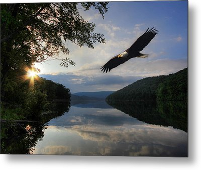 A New Beginning Metal Print by Lori Deiter