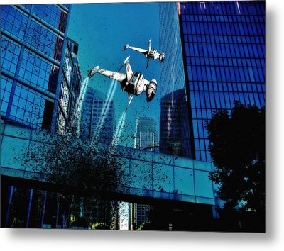 A New Invasion  Metal Print by Todd and candice Dailey