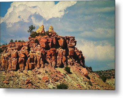 A New Mexico View Metal Print by Jeff Swan