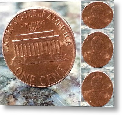 A Penny For Your Thoughts Metal Print by Emmy Marie Vickers