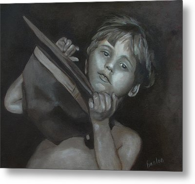 A Penny For Your Thoughts Metal Print by Susan Hanlon