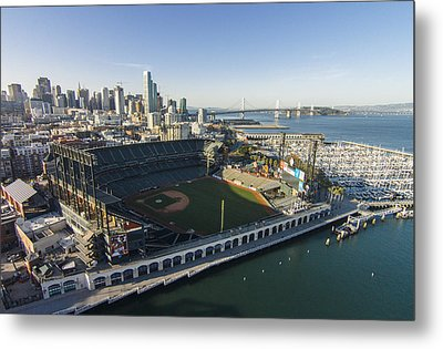 A Perfect Day On The Bay Metal Print by David Levy