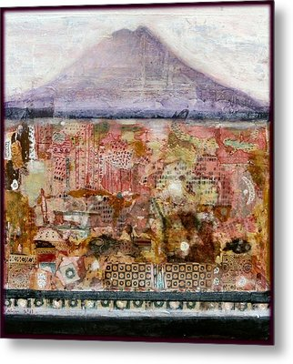 A Piece Of The Mountain Metal Print by Nalini Cook