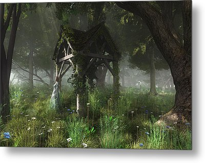 A Place Of Secrets Metal Print by Melissa Krauss