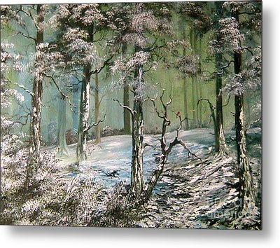 A Place To Shelter Metal Print by Jean Walker