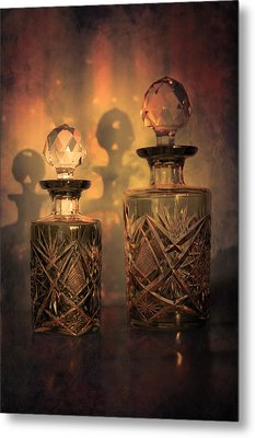 A Play Of Light At Dusk Metal Print by Loriental Photography