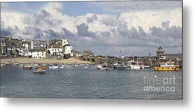A Postcard From St Ives Metal Print by Terri Waters