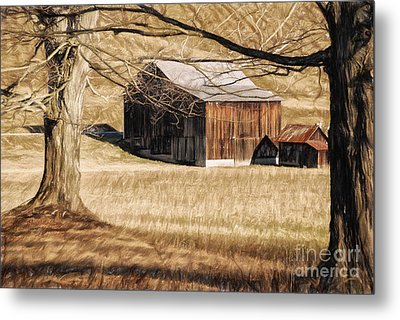 A Profession Of Hope Metal Print by Lois Bryan