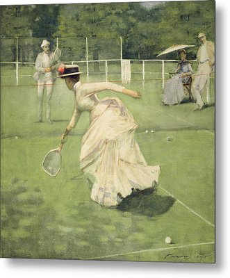A Rally, 1885 Metal Print by Sir John Lavery