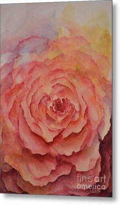 A Rose Beauty Metal Print by Kathleen Pio