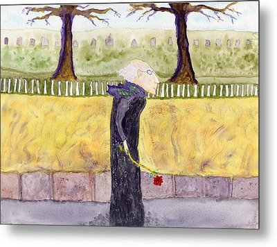 A Rose For My Dear Metal Print by Jim Taylor