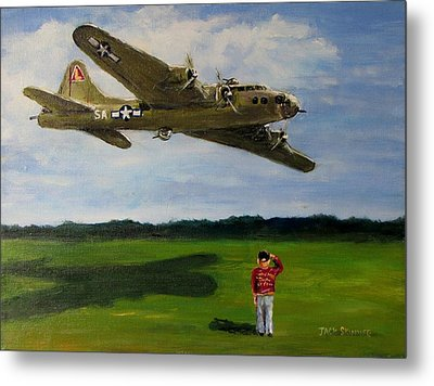 A Salute To The Greatest Generation Metal Print by Jack Skinner