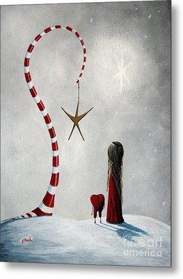 A Starlit Wish By Shawna Erback Metal Print by Shawna Erback