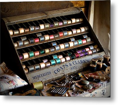 A Stitch In Time Metal Print by T Lowry Wilson