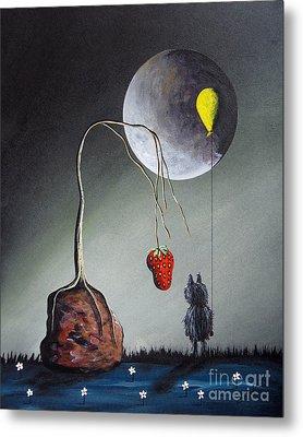 A Strange Dream By Shawna Erback Metal Print by Shawna Erback