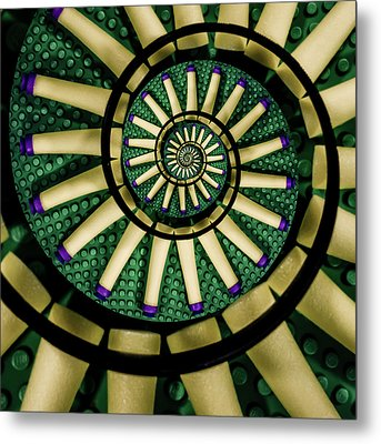A Swirl Of Legonerf Metal Print by Randy Turnbow