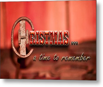 A Time To Remember Metal Print by Carolyn Marshall