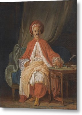 A Turkish Nobleman Metal Print by Celestial Images