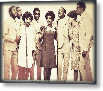 Motown Harmony Metal Print by Kellice Swaggerty