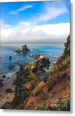 A View From Ecola State Park Metal Print by Robert Bales