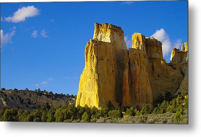 A View In The Grand Escalante Staircase Metal Print by Jeff Swan