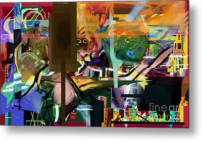 A Way To Bring The World To Tsheuvah 10 Metal Print by David Baruch Wolk