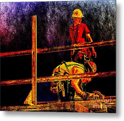 A Work Of Art  Metal Print by Dave Bosse