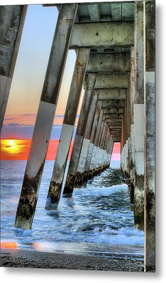 A Wrightsville Beach Morning Metal Print by JC Findley