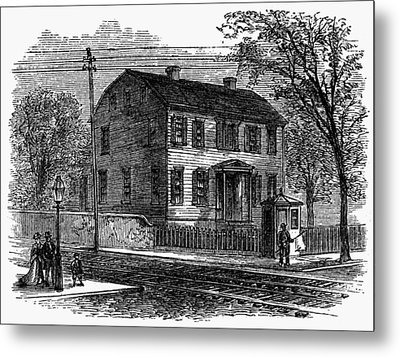 Aaron Burr Birthplace Metal Print by Granger