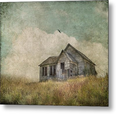 Abandoned Metal Print by Juli Scalzi