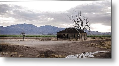 Abandoned House Metal Print by Swift Family